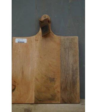 *Q329 - Snijplank - mangohout - 40 x 30 x 3,5 cm