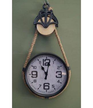 # J089 - Klok - Clock Parker L grey - L33B7H60CM