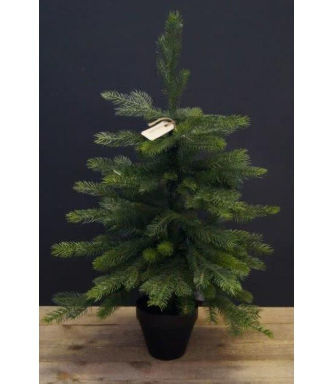 *Q954 - Kerstboom - imitatie - 50 x 75 cm