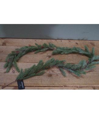 *Q559 - Guirlande - kunst - groen - 150 cm