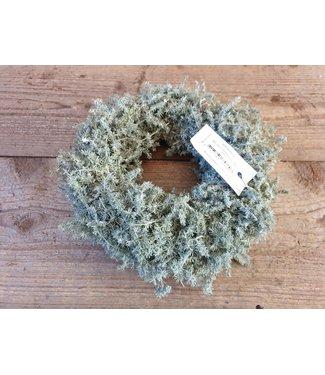 *asparagus wax krans 23 cm x 23 x 9 cm
