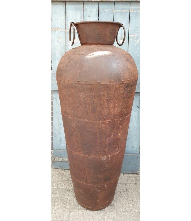 *Metalen vaas - xl - 2 - 50 x 50 x 150 cm - alleen afhalen/wordt niet verzonden