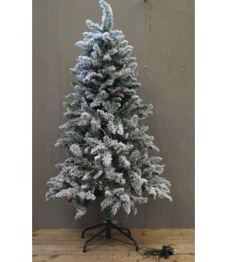 *W896 - Kerstboom - kunst - incl. verlichting - 80 x 80 x 150 cm