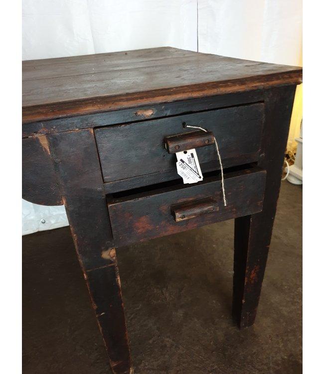 # Robuust houten bureau - 160 x 80 x 75 cm- wordt niet verzonden/alleen ophalen