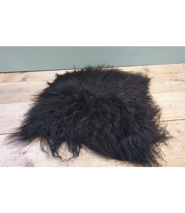 # Ijslandse stoolpad - zwart - 1 - 65 x 65 x 5 cm