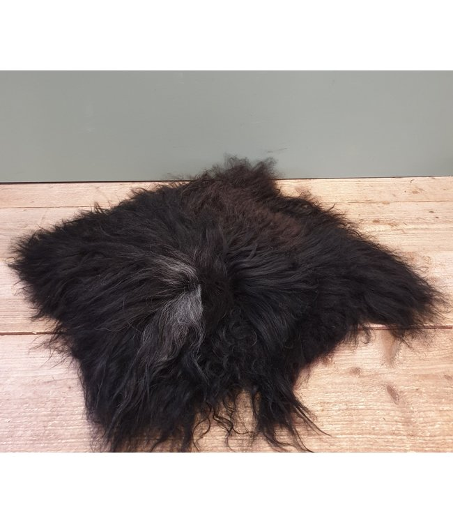 # Ijslandse stoolpad - zwart - 2 - 65 x 65 x 5 cm