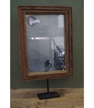 NT!!!! - I479 - Fotolijst op standaard - 28 x 6,5 x 47 cm (binnenkant 19,5 x 29 cm)