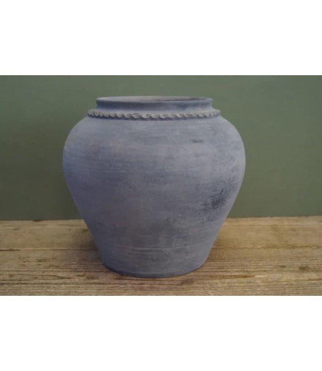 NT!!!! - B298 - Kruik - claypot - steen - 20 x 20 x 24 cm