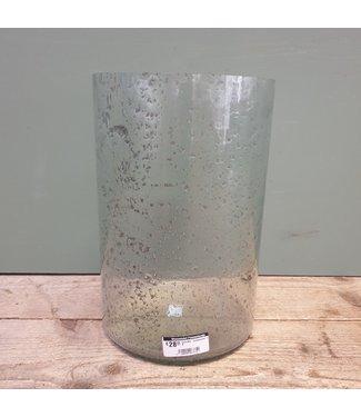 """Cylinder """"bubbelglas"""" nr. 6 - 20 x 20 x 30 cm"""