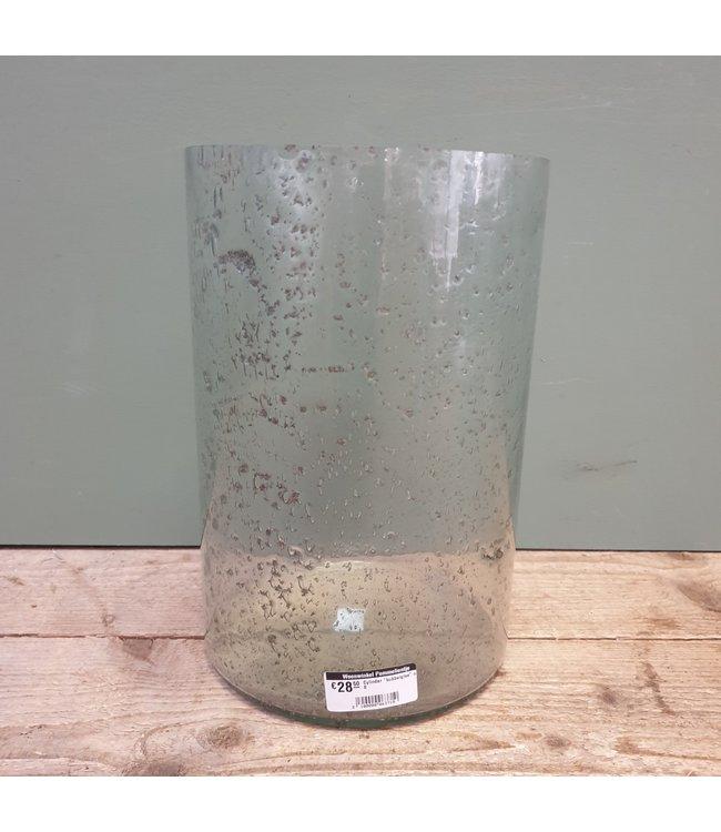 """# Cylinder """"bubbelglas"""" nr. 6 - 20 x 20 x 30 cm"""