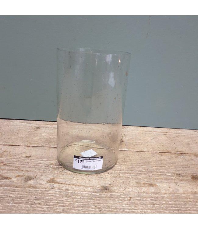 """# Cylinder """"bubbelglas"""" nr. 2 - 12 x 12 x 20 cm"""