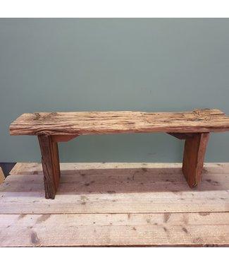 sloophouten bankje - 5 - 114 x 25 x 41 cm