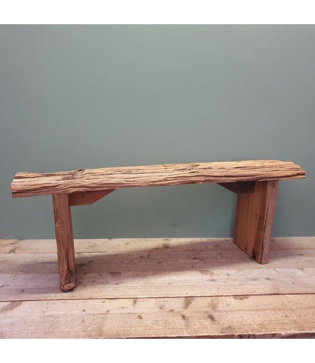 # sloophouten bankje - 6 - 114 x 26 x 42 cm