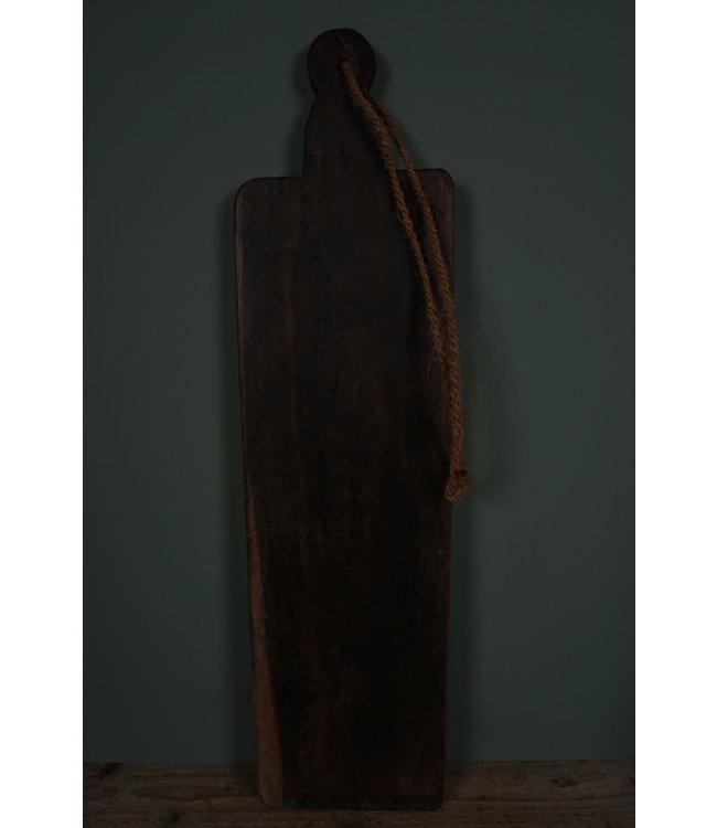 # Broodplank oud hout - 1 - 75 x 19 x 2,5 cm