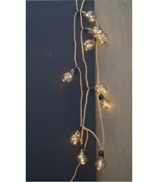 # I359 - touw 270 cm met 10 lampen op stekker