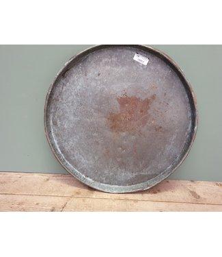 Metalen dienblad rond - 7 - 50 x 50 x 5 cm
