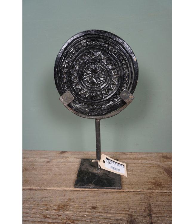 ( Stenen mandala op statief - 1 - 16 x 10 x 30 cm