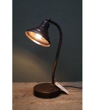 *I717 - Buro lamp - metaal - 13,5 x 16 x 37 cm - snoer 140 cm