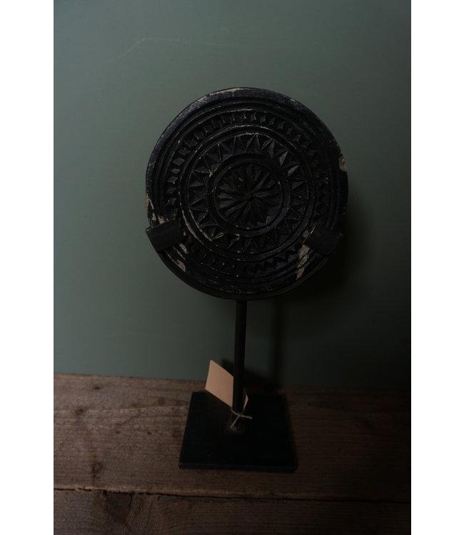 # Stenen mandala op statief - 4 - 16 x 10 x 30 cm