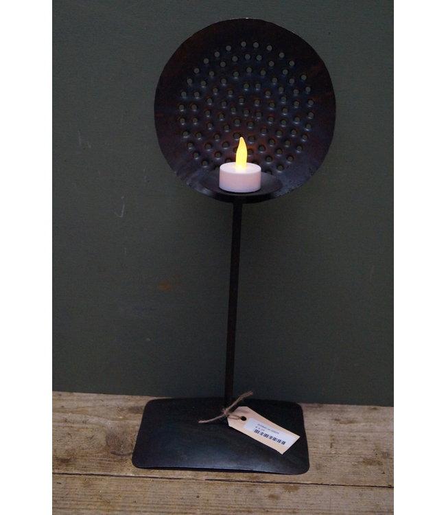 # Q920 - Iron candle spoon M - 17 x 14 x 43 cm
