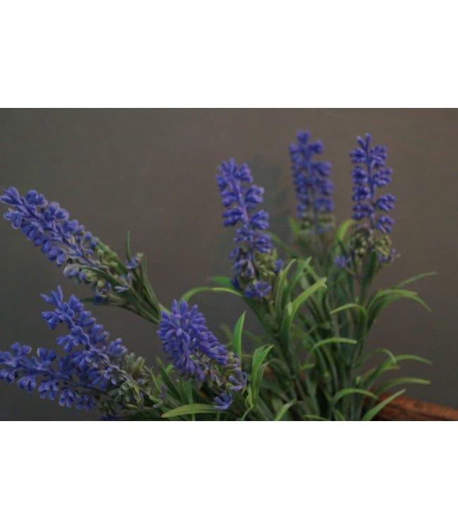 # E632 - Bos lavendel - kunst - 13 x 13 x 34 cm