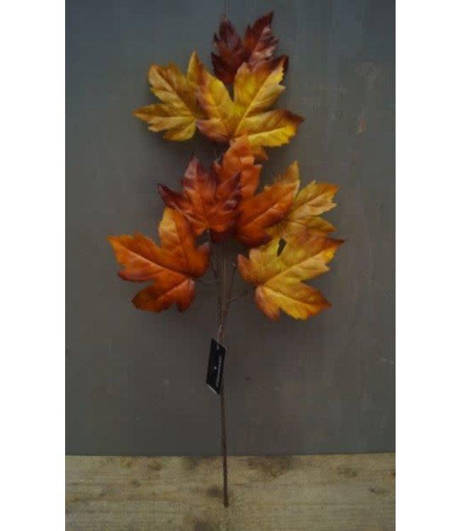 # Q089 - Tak met herfstbladeren- geel - 56 x 17 x 0,5 cm