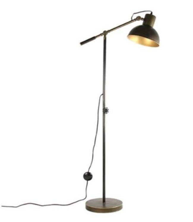 # J340 - vloerlamp - metaal - 68 x 28 x 157 cm
