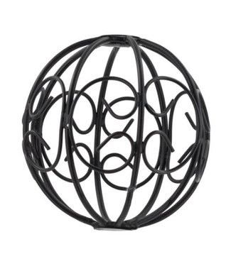 # Metalen kerstbal 10 x 10 cm
