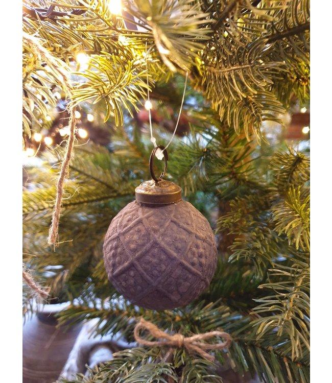 Glazen kerstbal - xr5423