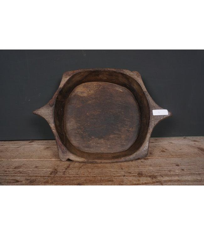 # Houten schaal met oren - 13 - 47 x 33 x 7 cm