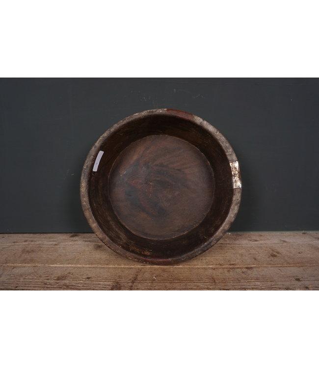 # Ronde houten schaal - 48 - 36 x 36 x 9 cm
