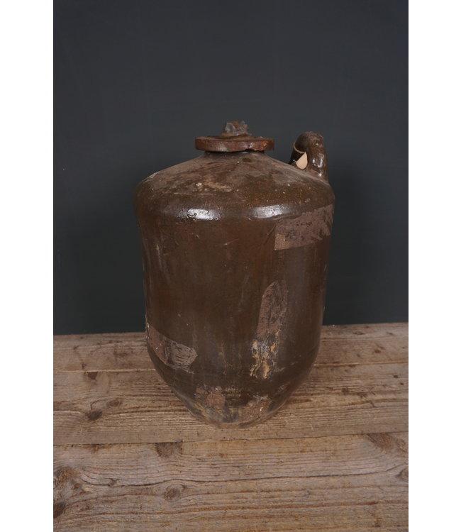 # Voorraadkruik aardewerk - 8 - 34 x 34 x 50 cm - alleen afhalen/wordt niet verzonden
