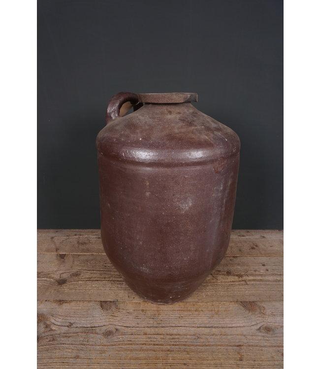 # Voorraadkruik aardewerk - 6 - 34 x 34 x 52 cm - wordt niet verzonden/alleen afhalen