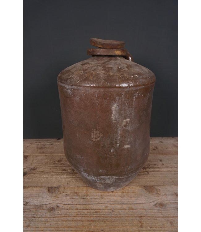 # Voorraadkruik aardewerk - 5 - 33 x 33 x 53 cm - alleen afhalen/wordt niet verzonden