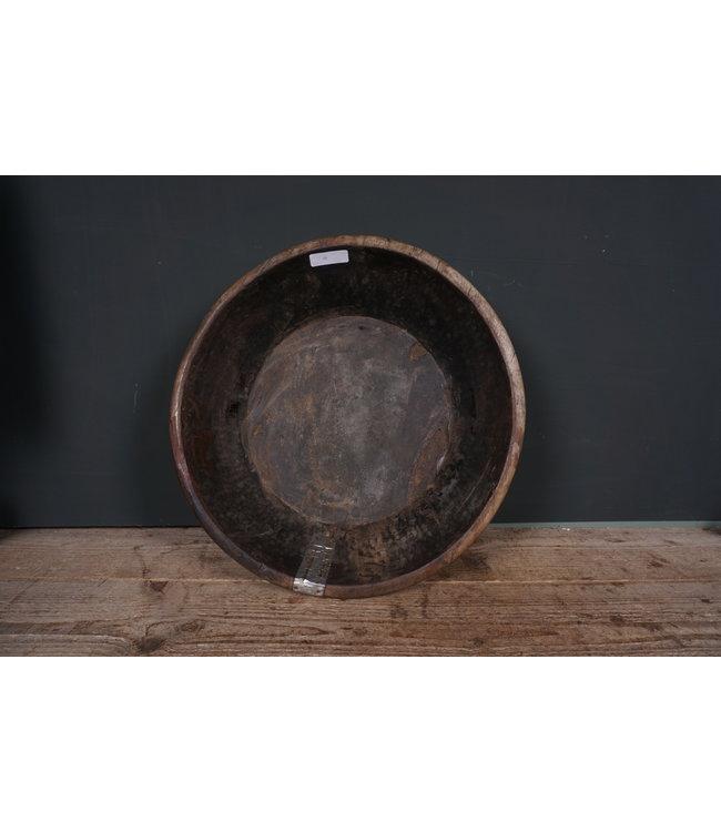 # Ronde houten schaal - 51 - 45 x 45 x 11 cm