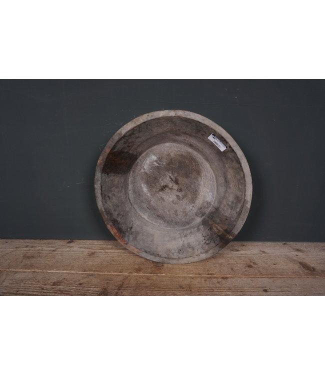 # Ronde houten schaal - 31 - 40 x 40 x 11 cm
