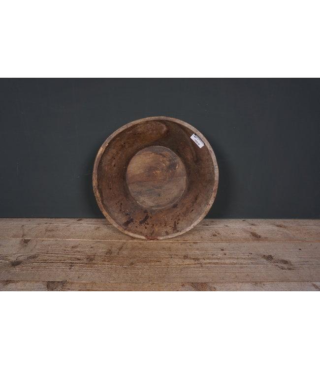 # Ronde houten schaal - 30 - 43 x 41 x 11 cm