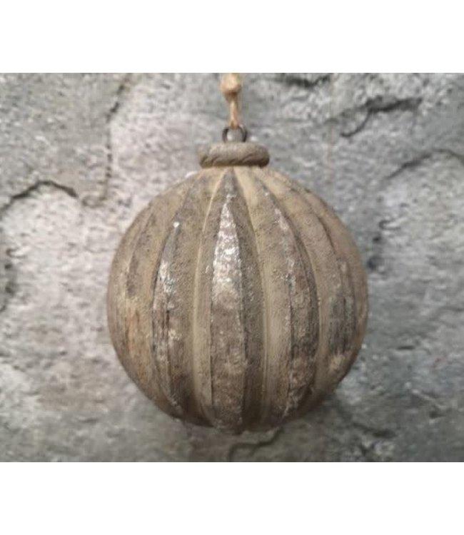 # Lara melon ball silver 8 cm