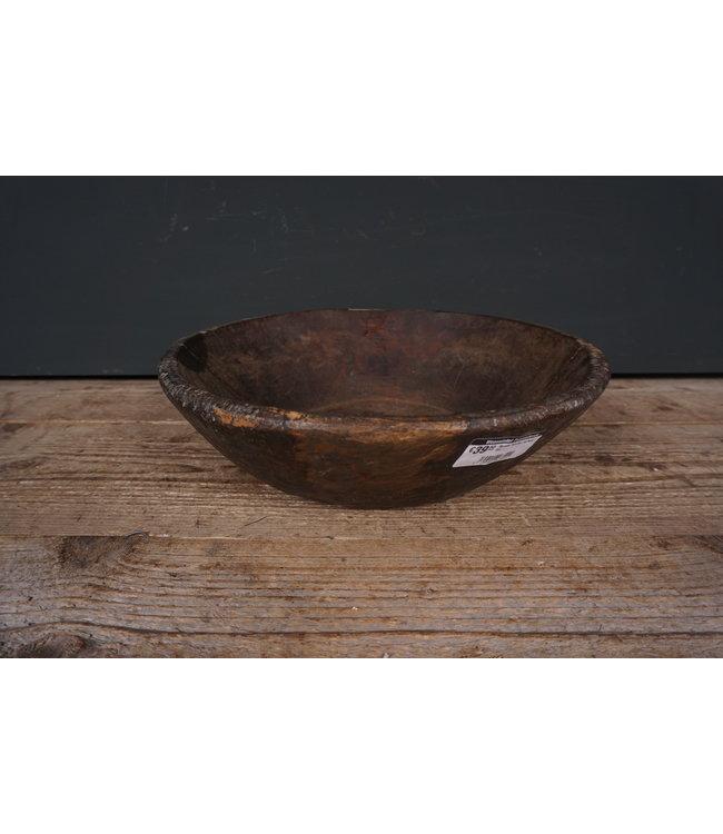 # Ronde houten schaal - 59 - 32 x 32 x 10 cm