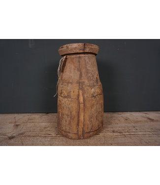 Naga - houten pot - 2 - 23 x 23 41 cm