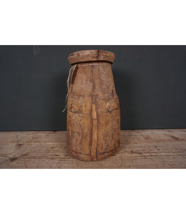 # Naga - houten pot - 2 - 23 x 23 41 cm