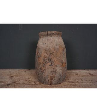 Naga - houten pot - 4 - 23 x 23 x 43 cm