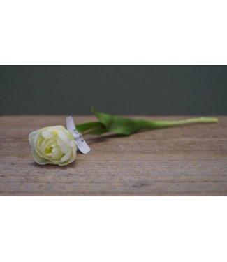 NT!! - J570 - Witte tulp - kunst - 39 x 6,5 x 5 cm