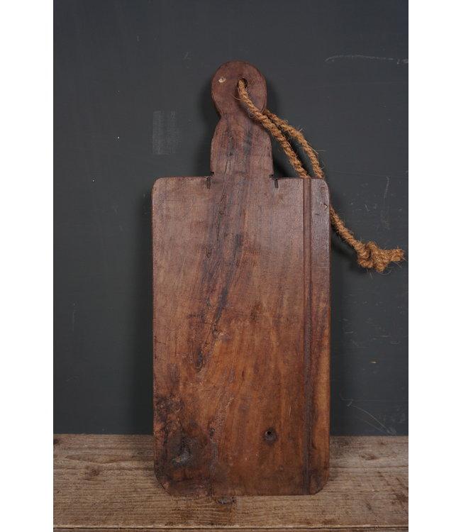 # Broodplank oud hout - 20 - 58 x 24 x 2,5 cm