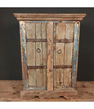 Indisch kastje - hout - 50 x 25 x 75 cm - alleen afhalen/wordt niet verzonden