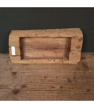 # Houten Trog - 4 - 40 x 19 x 12 cm