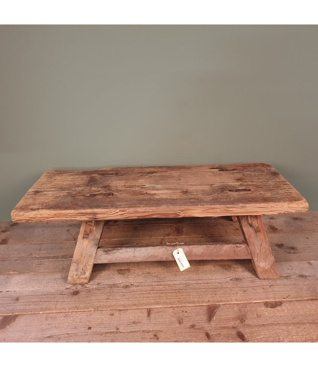 @ A687 - chinese theetafel - hout - 92 x 38 x 28 cm