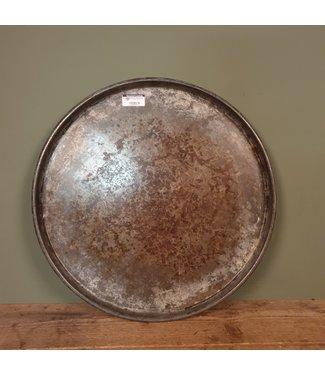 Metalen dienblad rond - 5 - 50 x 50 x 5 cm