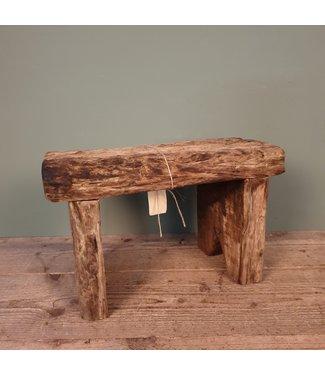 B234 - houten krukje - 40 x 19 x 26 cm
