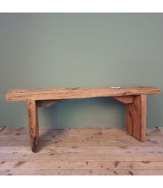 sloophouten bankje - 11 - 115 x 25 x 42 cm